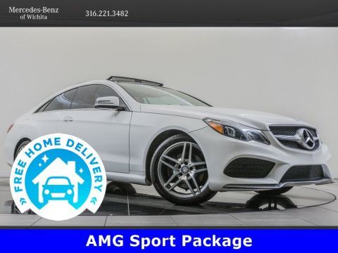 Pre-Owned 2016 Mercedes-Benz E-Class AMG® Sport, Premium 2 Package