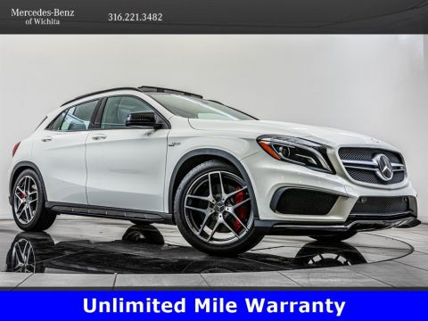 Certified Pre-Owned 2015 Mercedes-Benz GLA GLA 45 AMG® 4MATIC, AMG® Night Styling Pkg