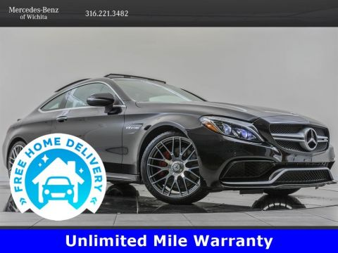 Certified Pre-Owned 2018 Mercedes-Benz C-Class AMG® C 63, Advanced Lighting Package