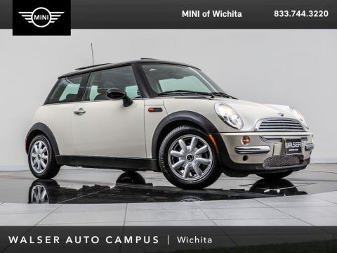 Pre-Owned 2003 MINI Cooper Hardtop Premium Package, Moonroof, STEPTRONIC FWD Hatchback