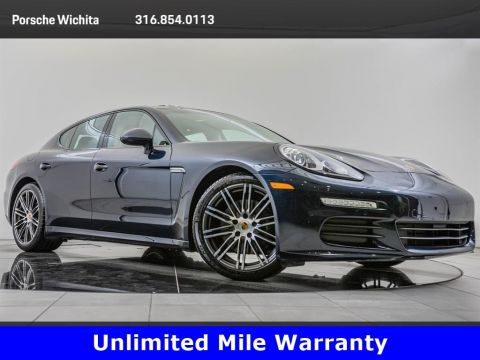 Certified Pre-Owned 2016 Porsche Panamera Upgraded 911 Wheels, Premium Package Plus