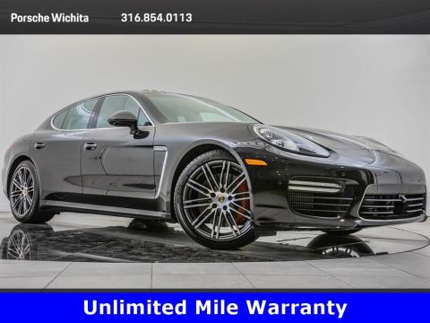 Certified Pre-Owned 2016 Porsche Panamera Turbo, 911 Turbo Whls, Premium Pkg Plus