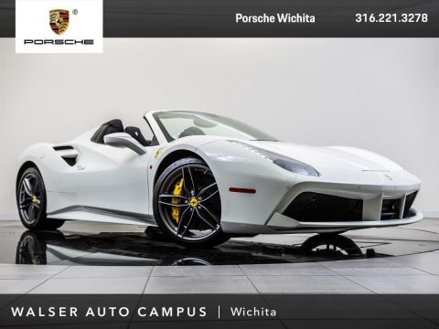 Pre-Owned 2018 Ferrari 488 Spider With Navigation